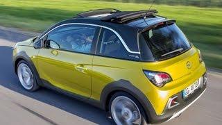 Тест драйв Opel Adam Rocks