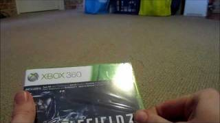 Battlefield 3 Limited Edition (With Physical Warfare Pack) Unboxing!