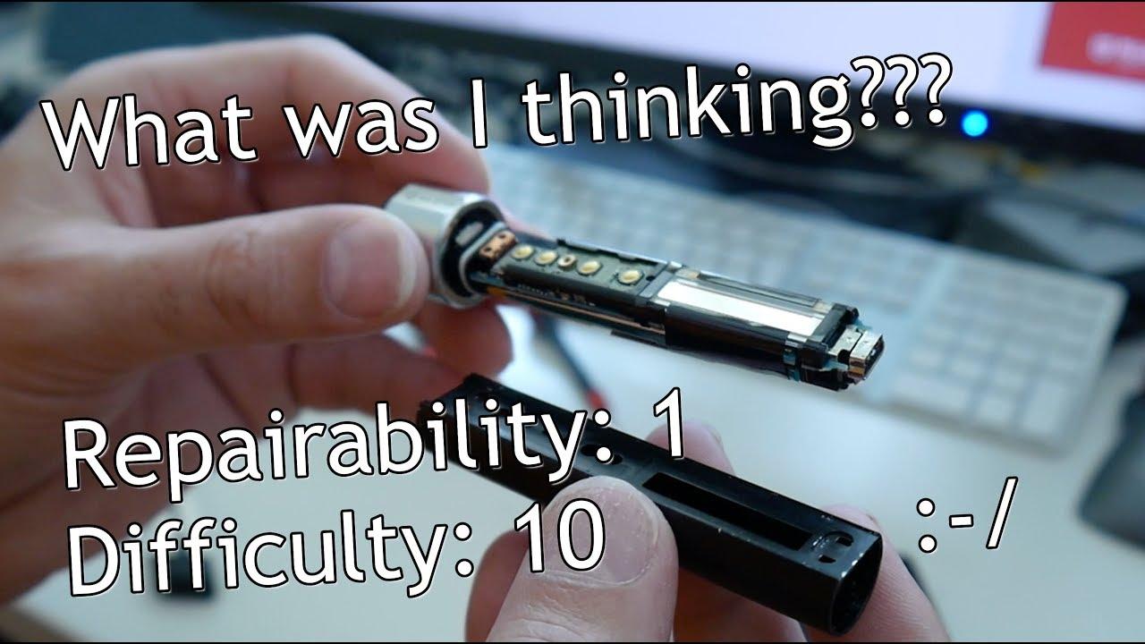 Download Sony Hi-MD MZ-RH1 MiniDisc faded OLED repair, NW-S205 display swap! part I