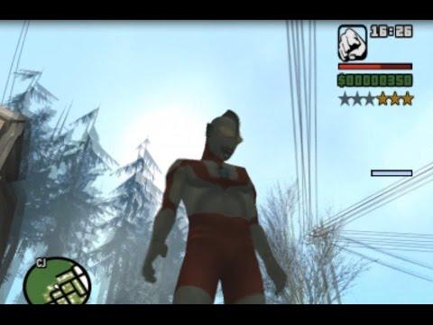 Gta Sa Mod Ultraman