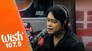 Marco Sison performs My Love Will See You Through LIVE on Wish 107.5 Bus