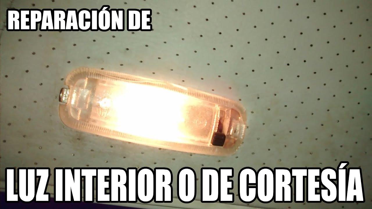 Aprende a reparar la luz interior o de cortes a - Como instalar lamparas led ...