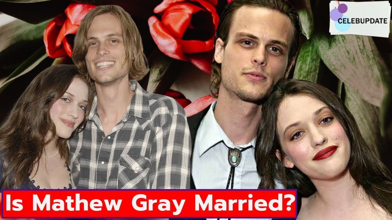 Gray married matthew gubler On a