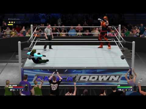 WWE 2K17 Lee vs The Joker