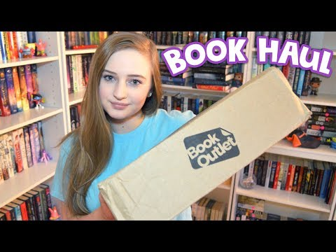 BOOK OUTLET UNBOXING & HAUL