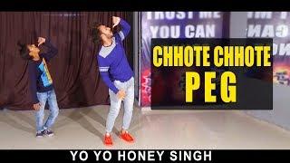 Chhote Chhote Peg Dance | Yo Yo Honey Singh | Vicky Patel Choreography