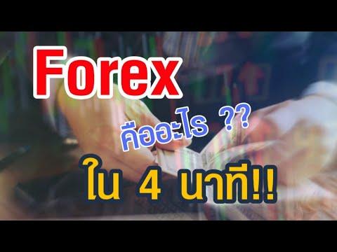 Forex คืออะไร ภายใน 4 นาที !!!