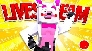 Got To Catch Them All! | Minecraft Pixelmon (A Minecraft Fnaf Live Stream)