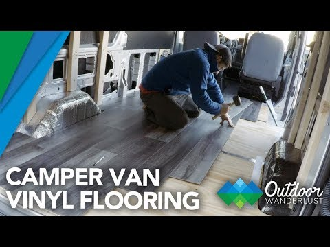 Van Conversion: Vinyl Flooring Installation
