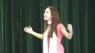 Sierra Boggess sings Part of Your World at A Class Act NY workshop