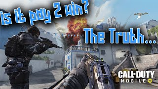 Is Call Of Duty Mobile Pay to Win? (Honest)