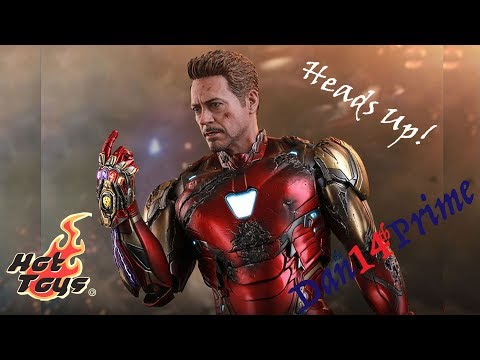 Heads Up! Hot Toys Avengers End Game Battle Damaged Iron Man Mark 85 Pre-order