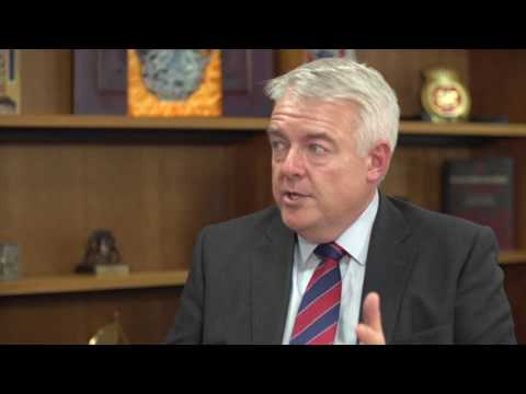 Carwyn Jones Q&A -  IoD Annual Convention