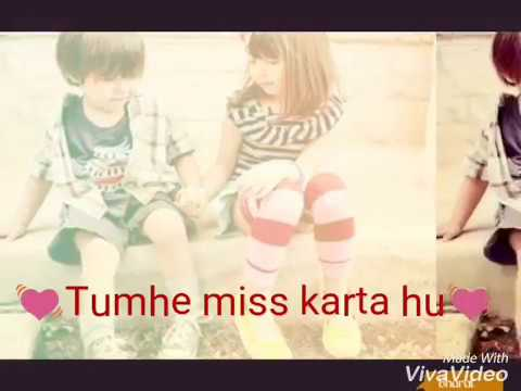 Tumhe Bahut Miss Karta Hu 💓Love : Sad : New :Romantic Status Video ,👌WhatsApp Status Video 👌