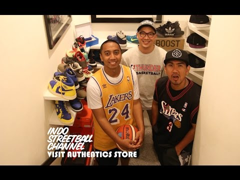 Indo Streetball Channel visit one of of the most trusted NBA Marchandise store in Jakarta