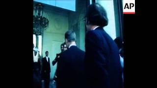 SYND 3 10 78 PRESIDENT CARTER SECURITY ADVISOR BRZEZINSKI MEETS PRESIDENT GISCARD