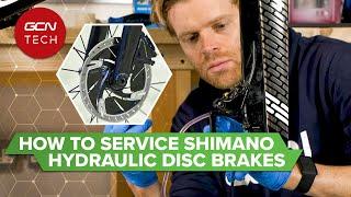 How To Bleed Shiṁano Road Hydraulic Disc Brakes