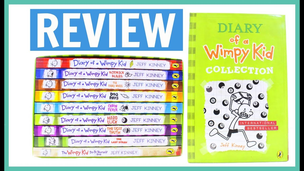 Review the diary of a wimpy kid 9 book collection the bangzo review the diary of a wimpy kid 9 book collection the bangzo bookworm youtube solutioingenieria