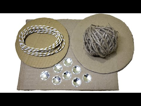 3 Cool Jute and Cardboard Craft | Easy DIY