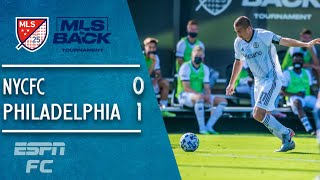 Alejandro Bedoya lifts Philadelphia Union to 1-0 win vs. NYCFC | MLS Highlights