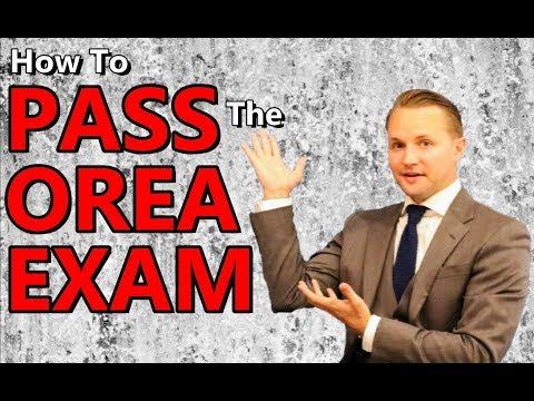 How To Pass The OREA Exam | Ontario Real Estate Course Study Tips