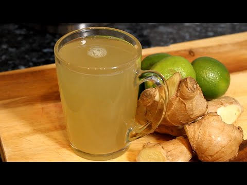 Lose Weight and Belly Fat Fast Drinking Ginger Tea in The Morning Chef Ricardo Cooking #LoseWeight
