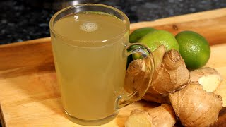 Lose Weight and BeĮly Fat Fast Drinking Ginger Tea in The Morning Chef Ricardo Cooking #LoseWeight