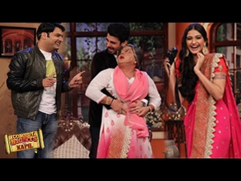 Sonam Kapoor & Fawad Khan on Comedy Nights with Kapil 27th July ...