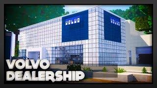 Minecraft - Volvo Car Dealership