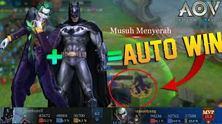 This Will Happen When Joker and Batman in One Team | Joker Review and Gameplay - Arena of Valor