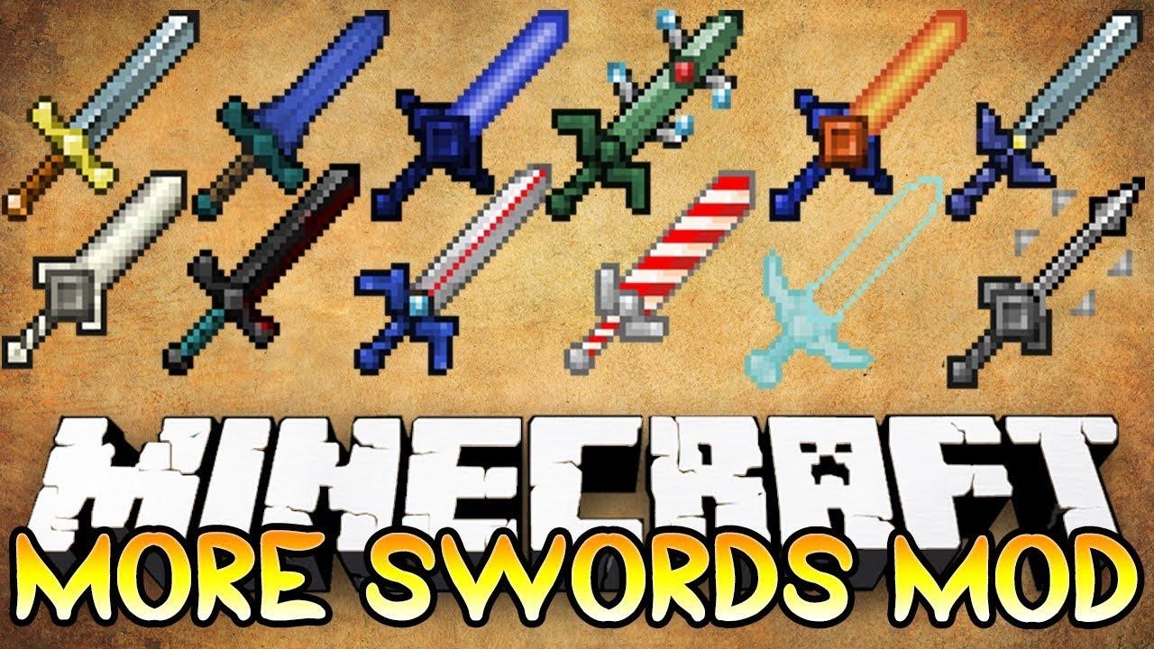 мод на легендарное мечи майнкрафт 1.6.4 #8