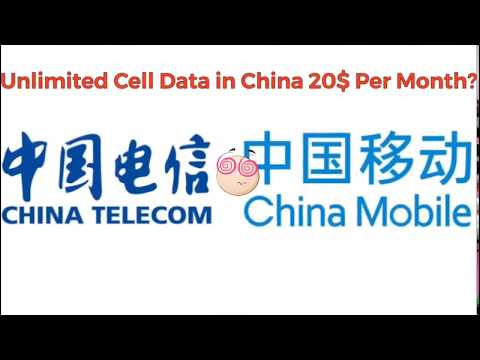 How to get unlimited cell data in China 2018?
