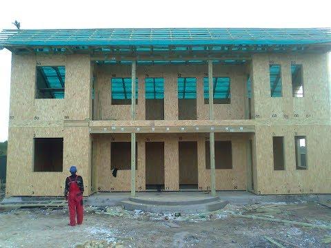 видео: Строительство сип дома своими руками-установка (монтаж) sip панелей
