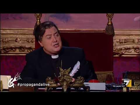 Propaganda Live - Corrado Guzzanti - Monsignor Pizarro 2di2