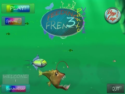 Let's play FEEDING FRENZY 3+Download by QAQ淼叔