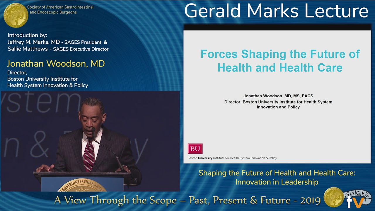 Download SAGES 2019 Gerald Marks Lecture: Jonathan Woodson