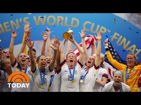 World Cup-Winning US Women's National Soccer Team Returns Home | TODAY