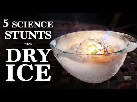 Thumbnail: 5 Phenomenal Science Stunts, Done with Dry Ice