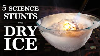 "What happens when Mad Science meets Dry Ice? Find out in this mind-blowing compilation of 5 ""super-cooled"" science experiments. Some quick links to a few ..."