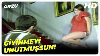 Arzu Türk Filmi - Arzu, Halil'i Baştan Çıkarmaya Çalışıyor! | Arzu Okay Eski Türk Filmi