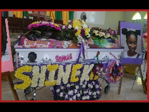 SHINEKA GRAY FUNERAL - SIGHTS, SCENES & SOUND. S.I.P BABY-GIRL