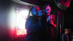 "Eskimo Callboy's Sushi & Pascal singing ""Tears Don't Fall""  at Bowie karaoke"