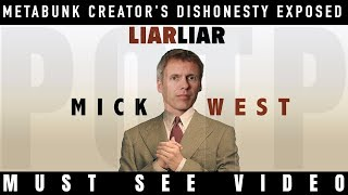 Mick West tries to LIE his way out but fails AGAIN [Mirror]