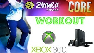 Get Fit With Me!  Zumba Fitness Core Workout  Using Xbox  Kinect