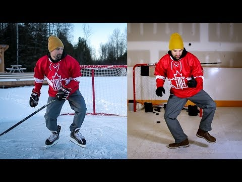 3. Learn To Skate WITHOUT Skates - CCM Welcome To Hockey Series