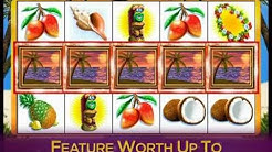 LUAU LOOT slot game preview video only at Jackpot Party best free online slots and jackpots