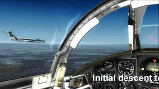 FS2004 Close encounter F-104.wmv