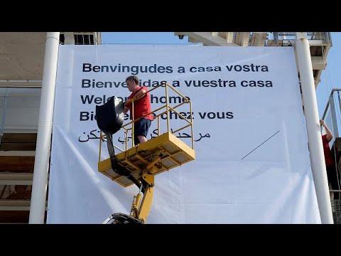 اسبانيا تستقبل سفينة أكواريوس وتستعد لوضع نظام رعاية صحية للمهاجرين…  - 19:23-2018 / 6 / 16