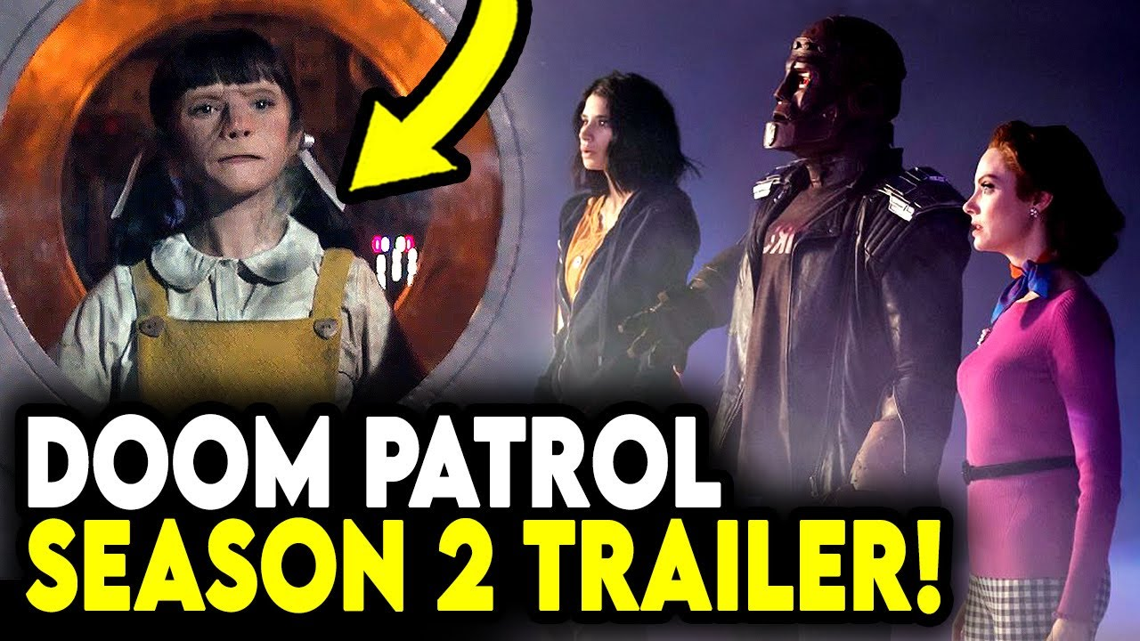 Doom Patrol Season 2 Trailer Is Here Reaction First