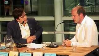 Jelle Brandt Corstius, Murat Isik en Sofie van Dijck bij Literatuur Late Night (13 september 2012)